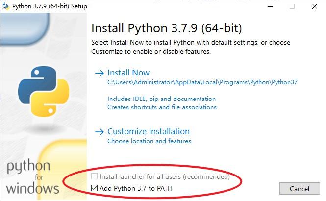 python安装选择
