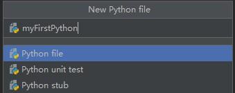 Pycharm提示输入文件名